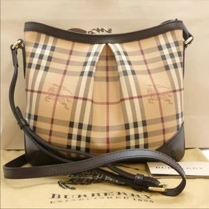 Authentic Burberry nova check crossbody